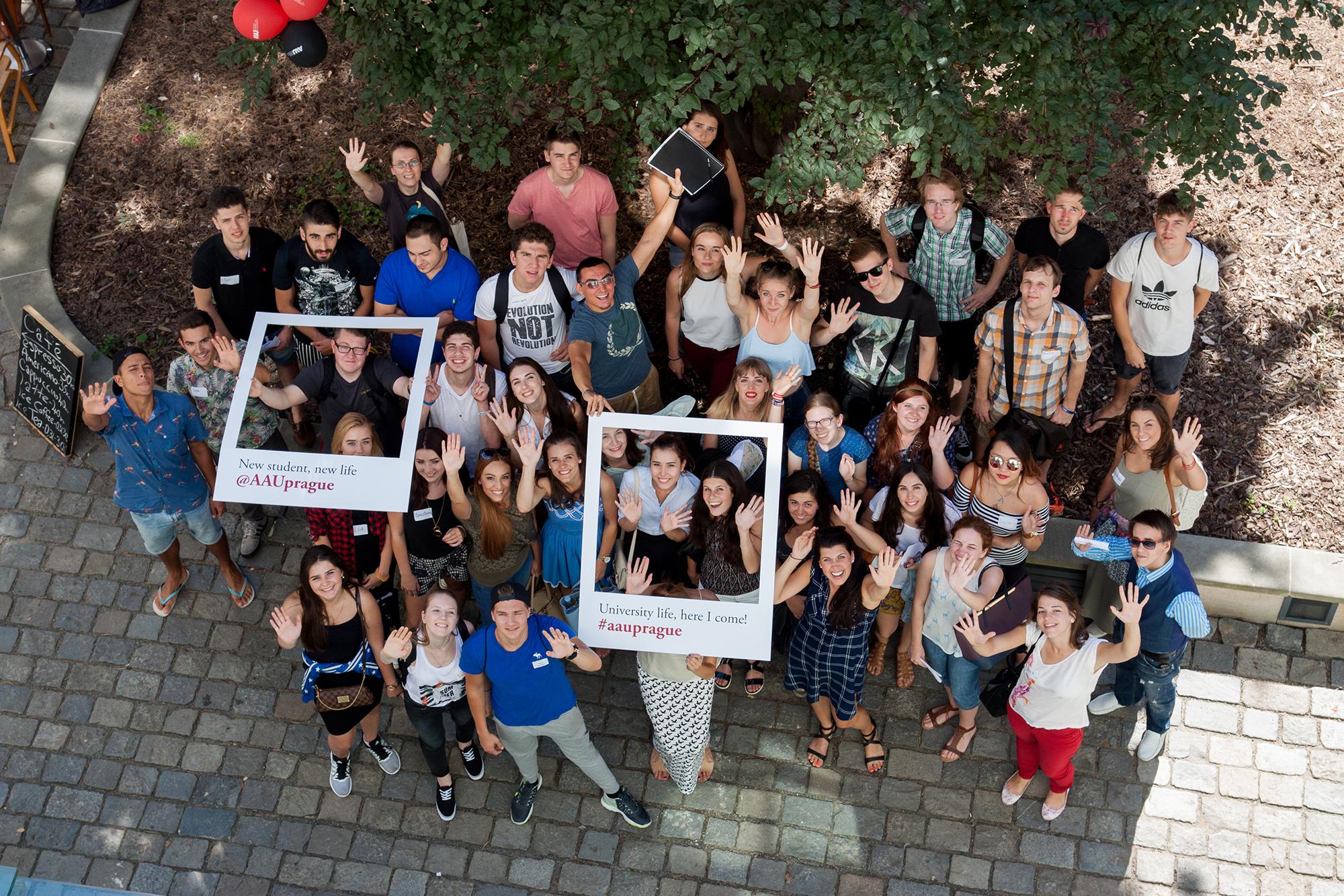 Americké vzdělání v centru Prahy